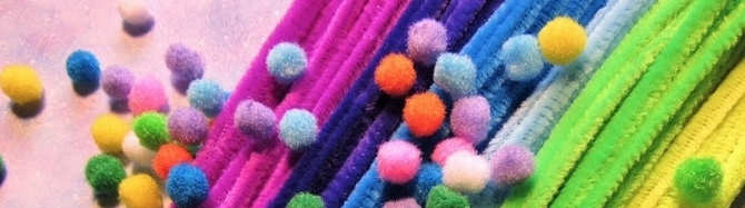 Chenille Stems and Pom Poms