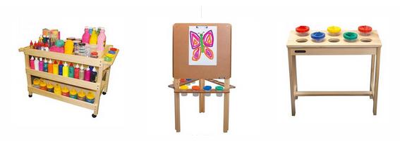 Easels, Art Trolleys, Drying Racks & Art Furniture
