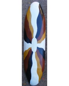 Traditional Shield Hand-Painted