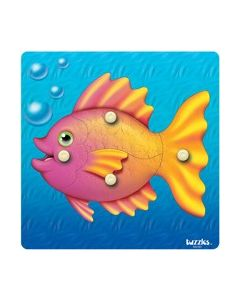 Knobbed Bubble Fish Puzzle 4pcs