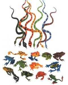 Frogs & Snakes Set 20pcs