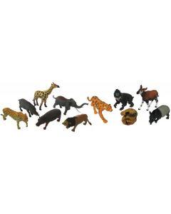 African & Rainforest Animal Set 11pcs