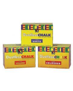 Chalk Anti-Dust White 100pcs