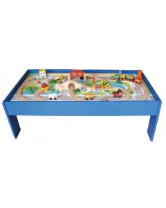 Large Train Set with Table 80pcs