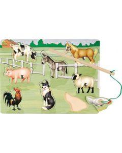 Farm Magnetic Puzzle 8pcs