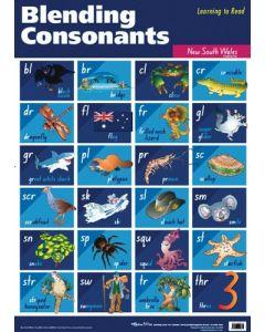 Blending Consonants Poster NSW