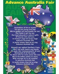 Advance Australia Fair Poster