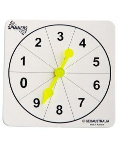 Numeral Spinners 10pcs