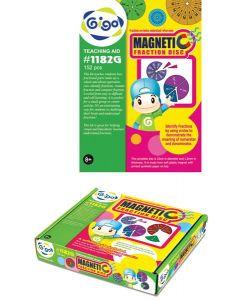 Large Magnetic Fraction Discs 152pcs