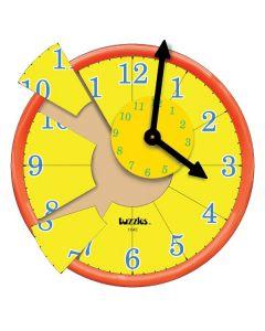 Tuzzle Time Raised Clock Puzzle 13pcs