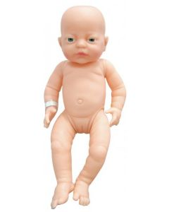 White Newborn Girl Doll 41cm