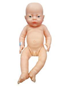 White New Born Boy Doll 41cm