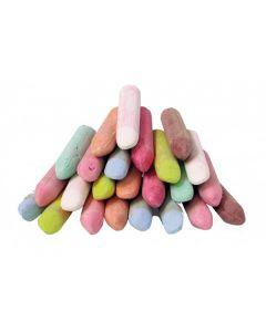 Jumbo Chalk in a Bucket 15pcs