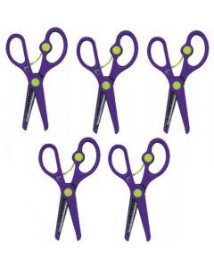 Scissors Springback Safety 5pcs