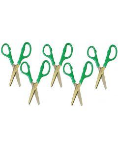 Scissors Left Handed 5pcs