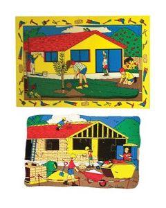 Building a House Reveal Puzzle 20pcs