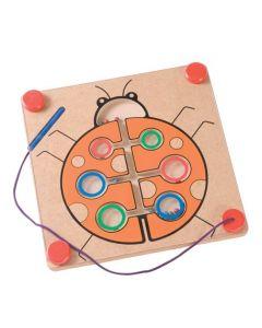 Ladybug Magnetic Maze Board