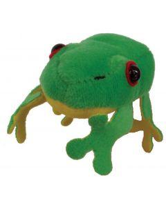 Green Frog Finger Puppet