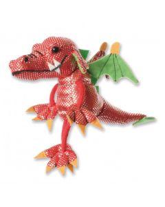 Red Dragon Finger Puppet