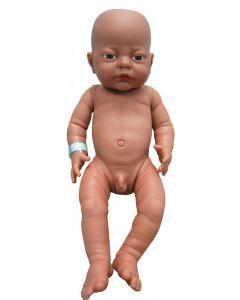Black Newborn Boy Doll 41cm