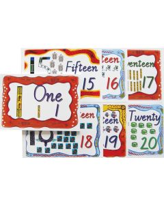 Indigenous Number Cards 1 to 20