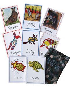 Indigenous Aussie Animal Memory Cards