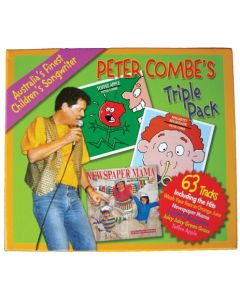 Peter Combe's Triple Pack CD 63 Songs
