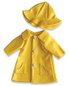 Dolls Raincoat & Hat