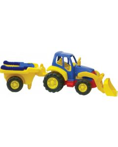 Super Tractor and Trailer Set 83cm L