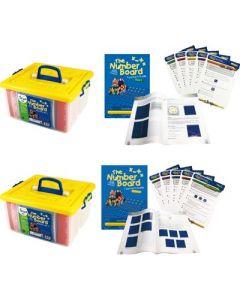 The Number Board Activity Kits 1 & 2 Mega Classroom Set 2930pcs