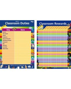 Classroom Rewards Double Sided Poster