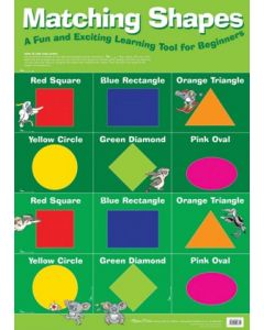 Matching Shapes Poster