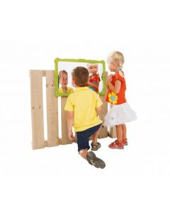 Outdoor Distortion Mirror Green