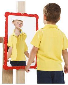 Outdoor Distortion Mirror Red
