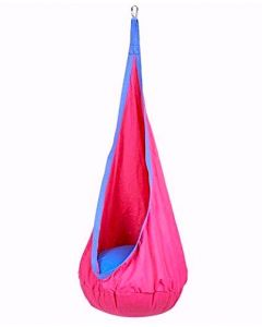 Indoor Sensory Pod Swing Pink