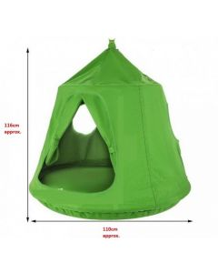 Tent Pod Swing Green