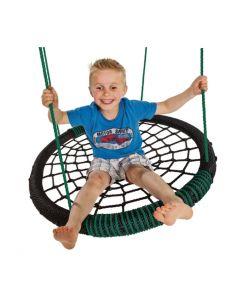 Oval Nest Swing Black/Green