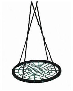 Round Nest Swing Black & Green