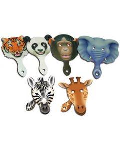 Animal Faces Paddle Set