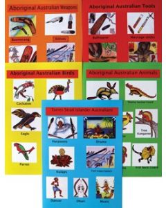 Indigenous Culture 5 x A4 Posters