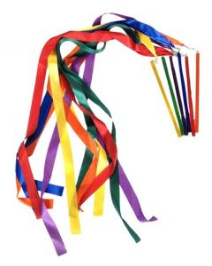 Double Rhythm Ribbons Set of 6