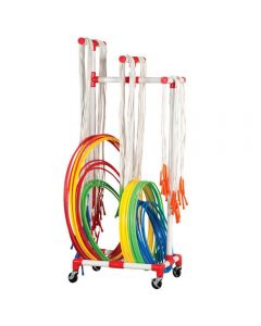 Hoops and Ropes Set With Trolley 70pcs