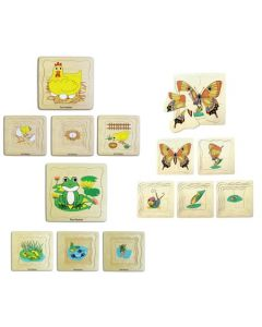 Life Cycle Layer Puzzles Set of 3