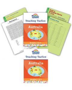 'Australia' - Teaching Tactics Modules 1,2,3 & 4