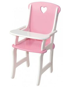 Wooden Doll's High Chair