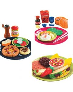 Italian, Chinese & Mexican Foods Set 44pcs