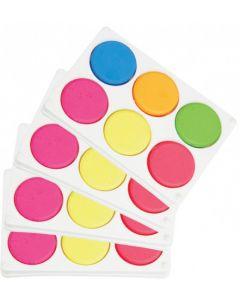 Fluoro Poster Colours Palette x 4