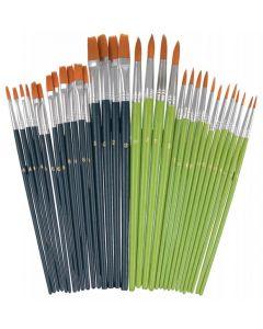 Bulk Taklon Brushes Set 32pcs