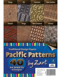 Pacific Islands Pattern Papers 40pcs