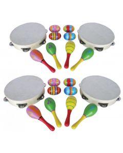 Music Percussion Set 20pcs